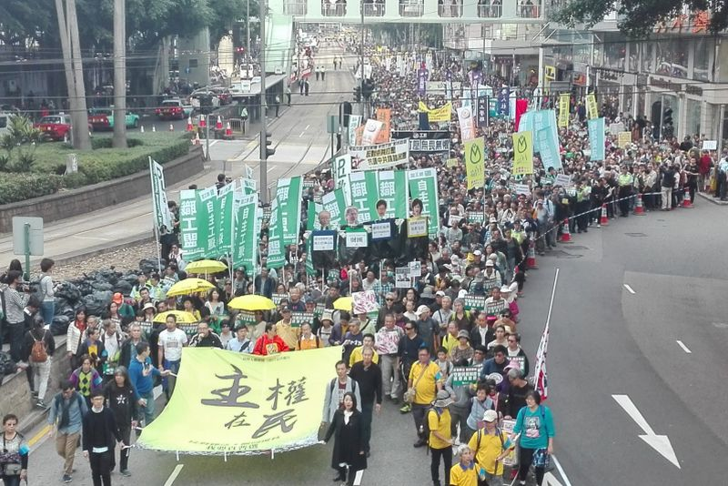 january 1 pro democracy march