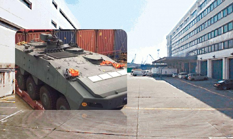 singapore military vehicle