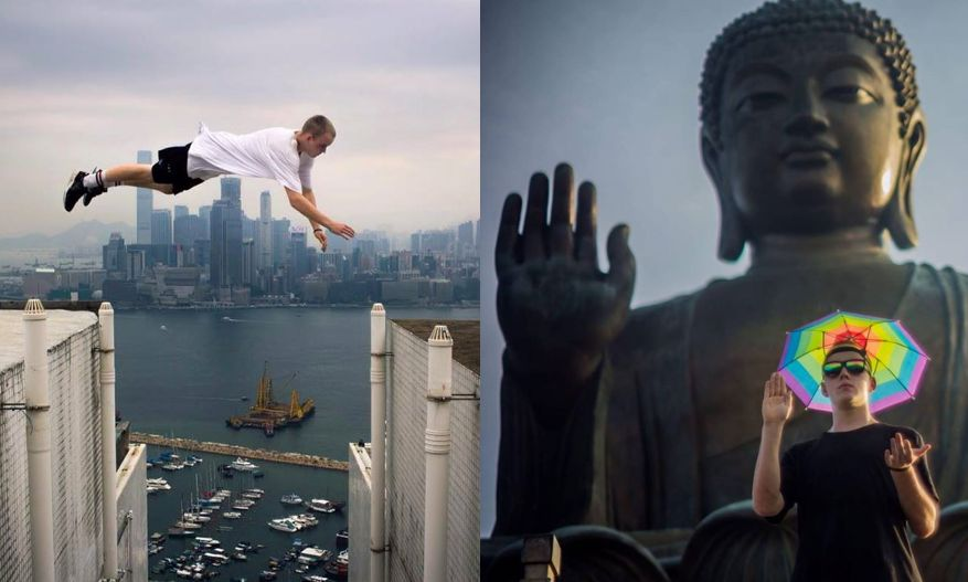 parkour runner who performed stunts in hong kong dies in paris metro 39 accident 39 hong kong free. Black Bedroom Furniture Sets. Home Design Ideas
