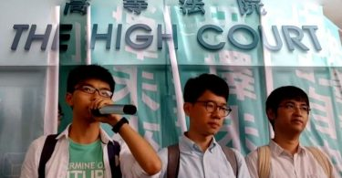 high court occupy joshua trio