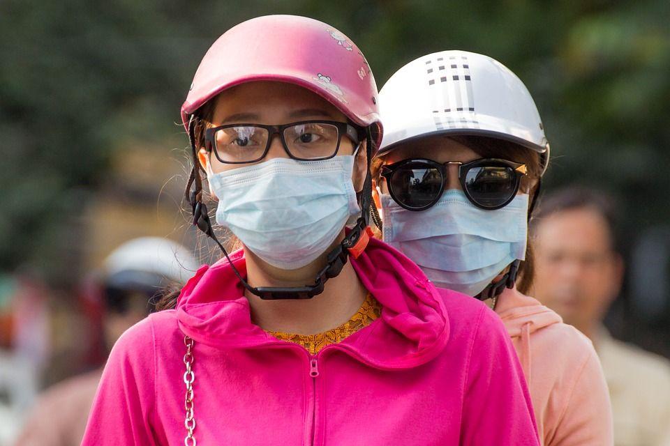 air pollution smog