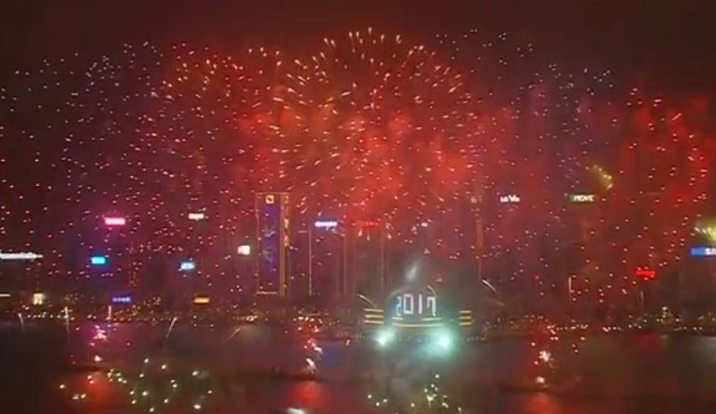 new years eve hong kong