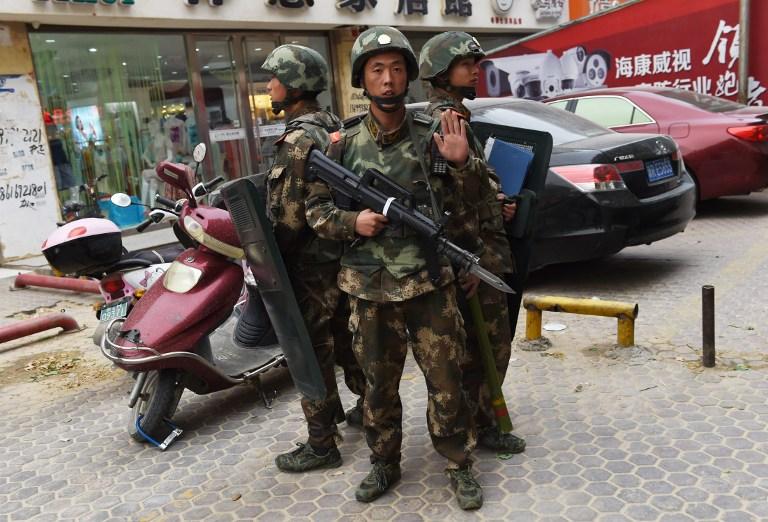 xinjiang anti terror operation