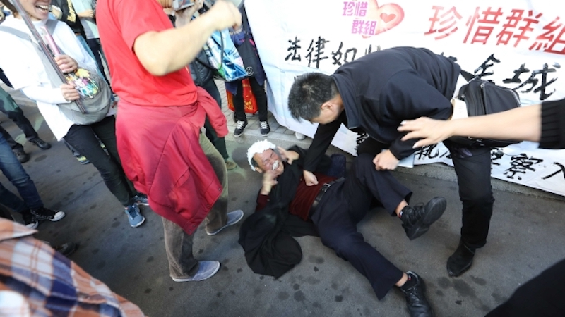 judge ken tsang occupy pro-police
