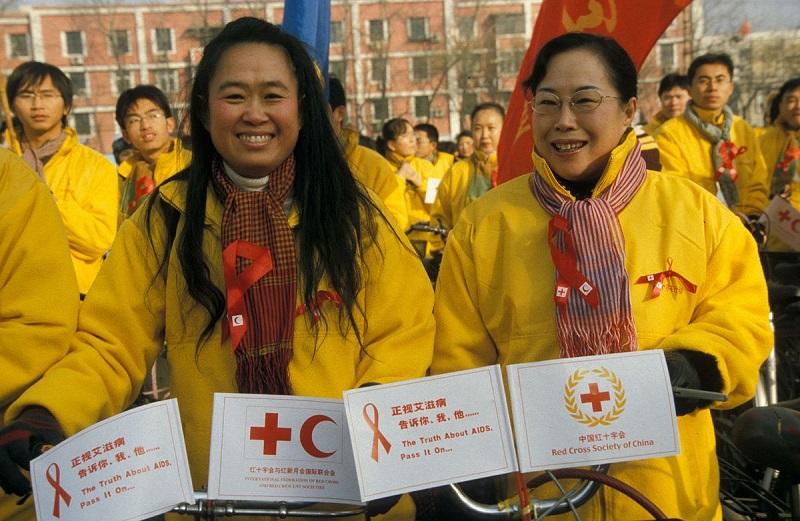 hiv aids china