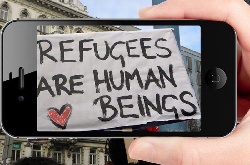 phone refugees