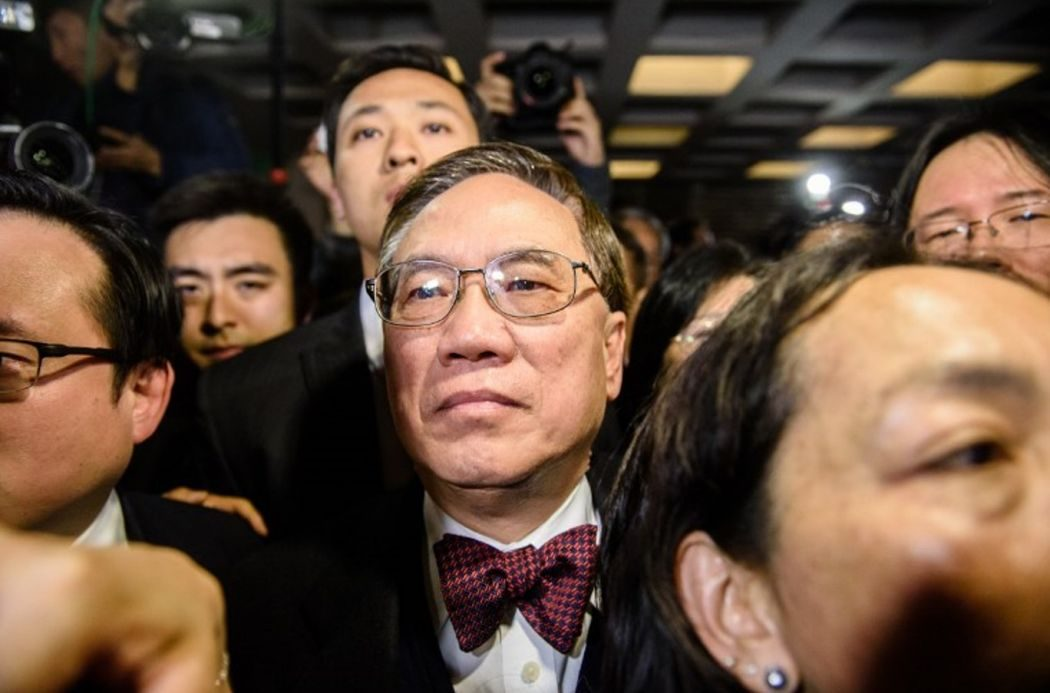 Ex-Hong Kong leader jailed in fall from