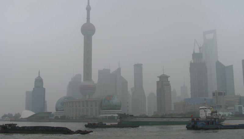 smog shanghai pollution