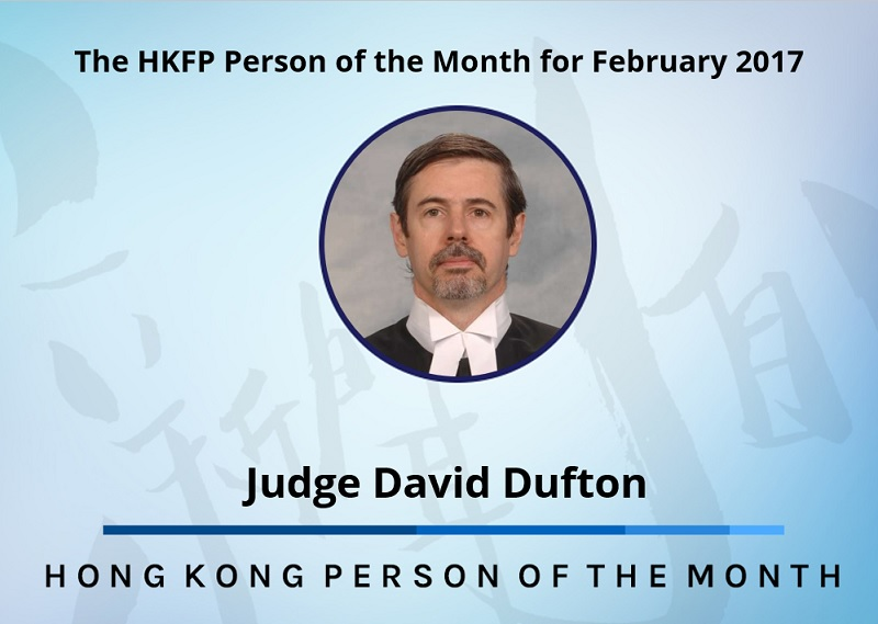 Judge David Dufton