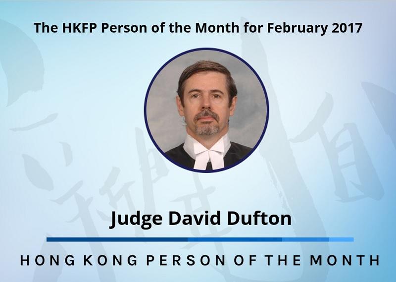 Judge David Dufton