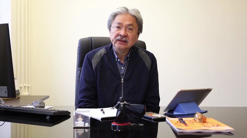 john tsang facebook video