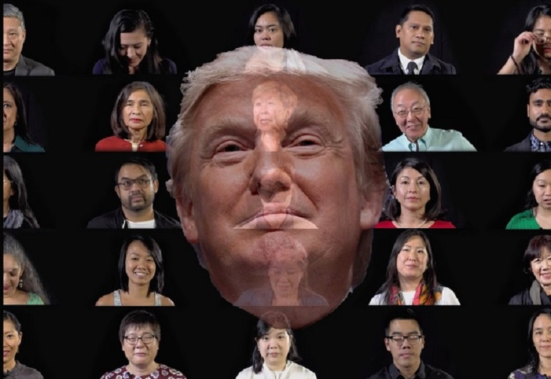 Donald Trump Asian American