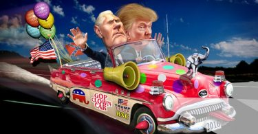 trump clown car