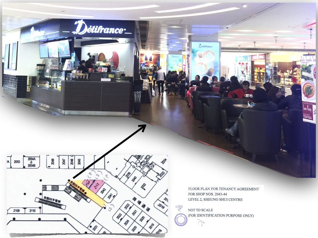 shopping mall food factory license restaurant