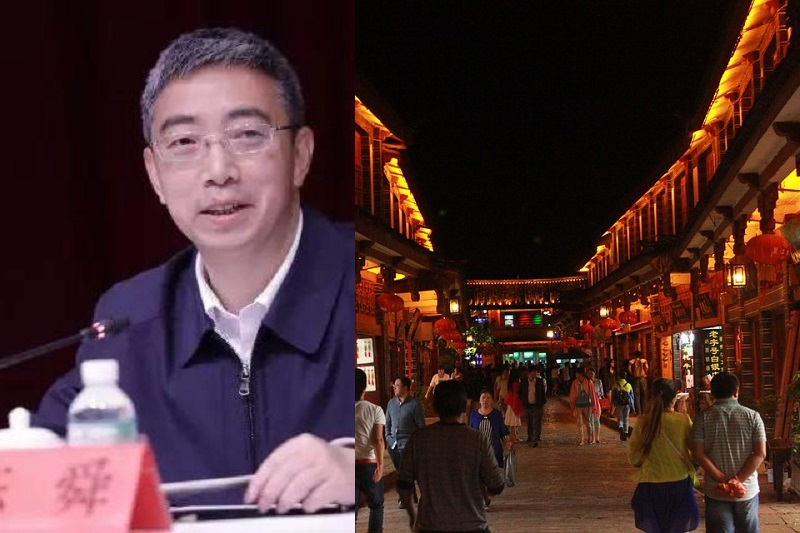 Chinese vice provincial chief 'forced to shop' after joining cheap