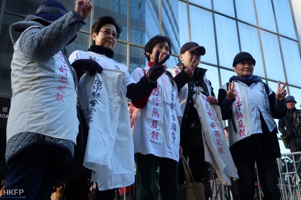 ken tsang verdict police pro-Beijing
