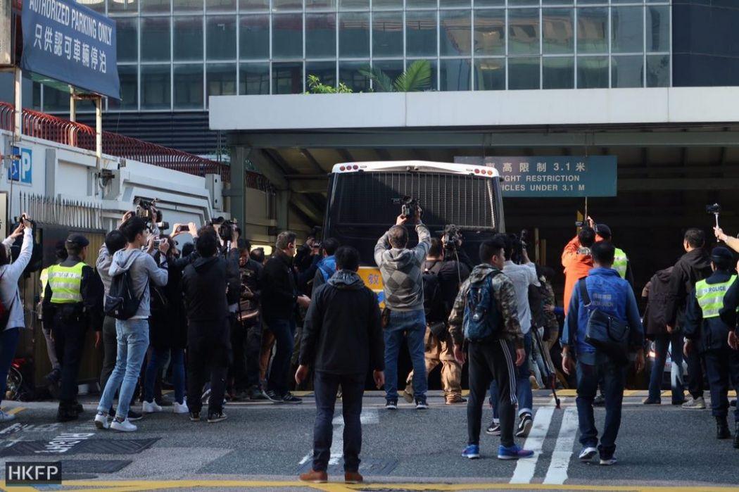 occupy policemen seven
