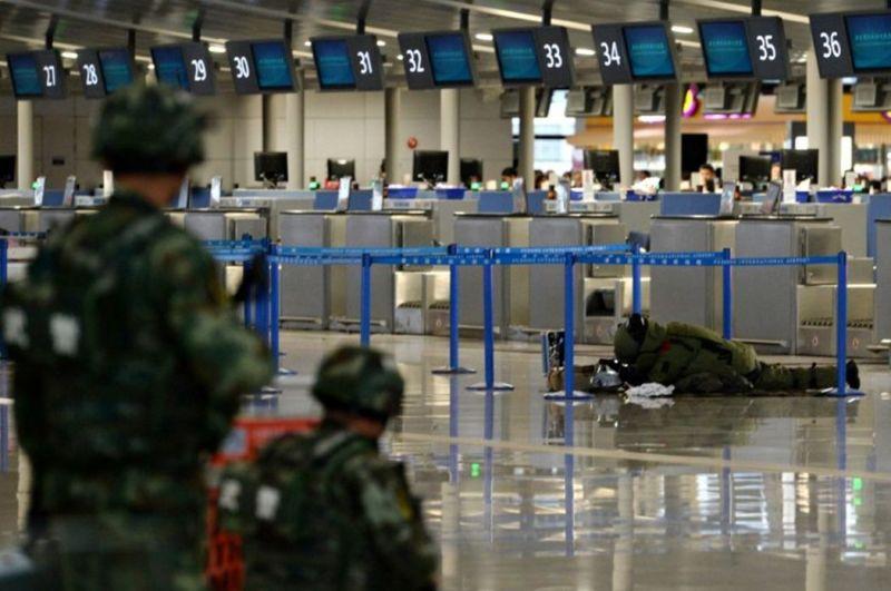 shanghai airport bomb
