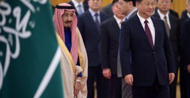 saudi king xi jinping
