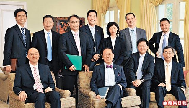 Donald Tsang Lau Sai-leung
