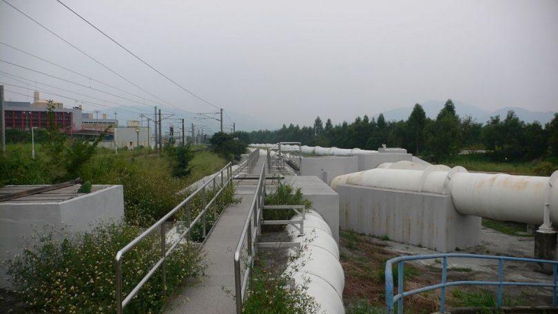 Dongjiang water pipes