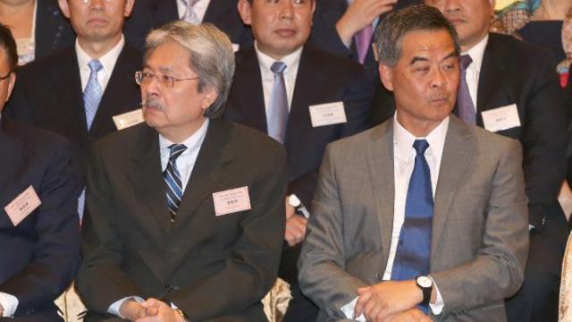 Leung Chun-ying John Tsang