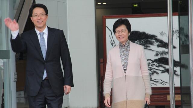 Zhang Xiaoming Carrie Lam