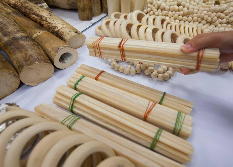 Carbon dating ivory