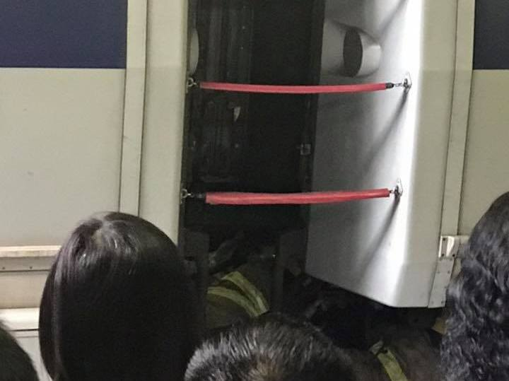 mtr accident firefighter