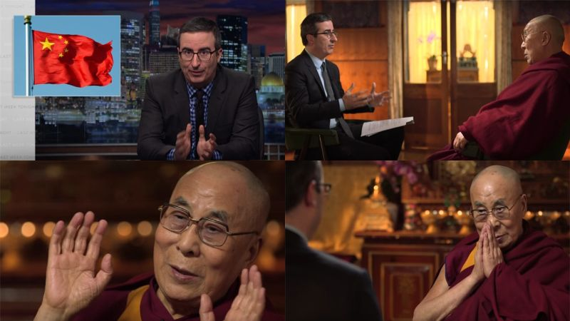 John Oliver explains how China is trying to subvert the Dalai Lama