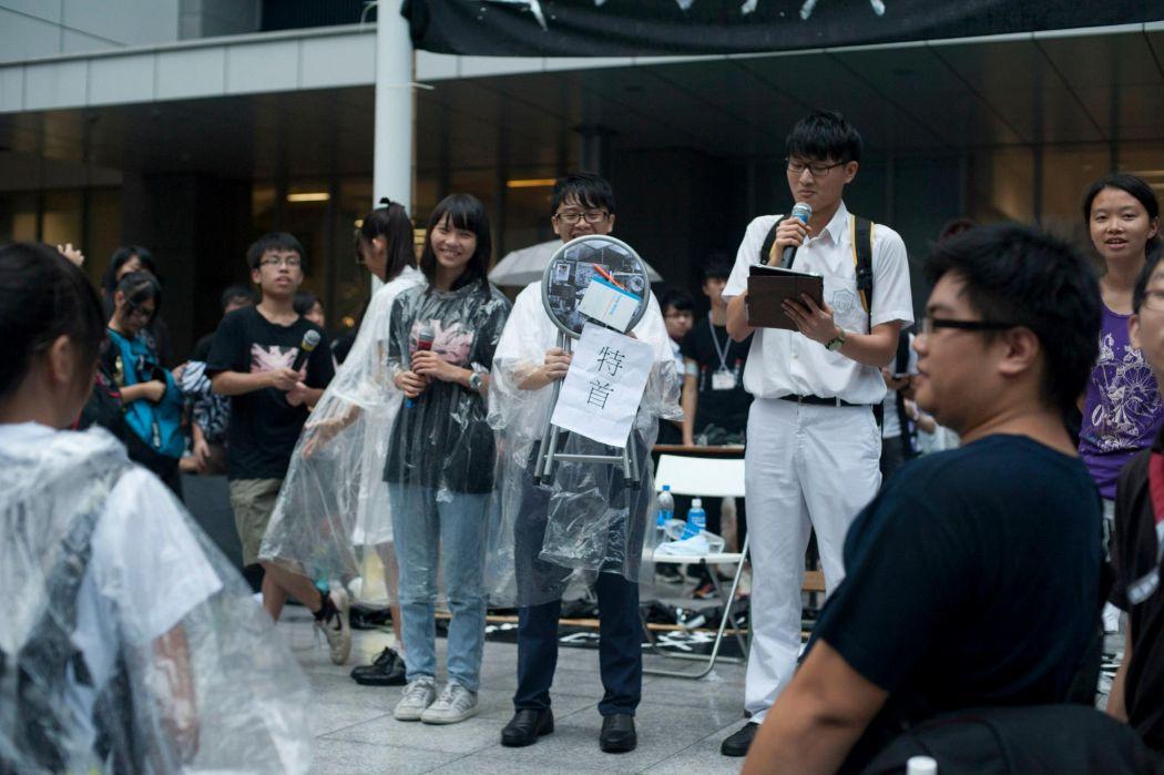 Scholarism Marco Li Billy Fung