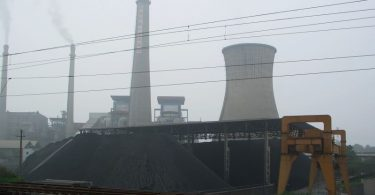 china coal plant pollution