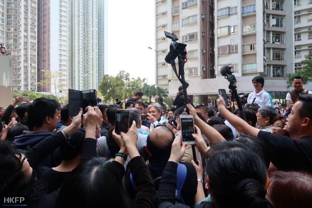 john tsang rally election