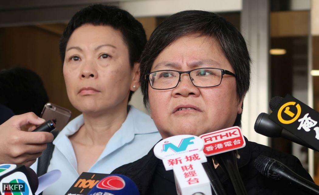 Shirley Yam and Sham Yee-lan