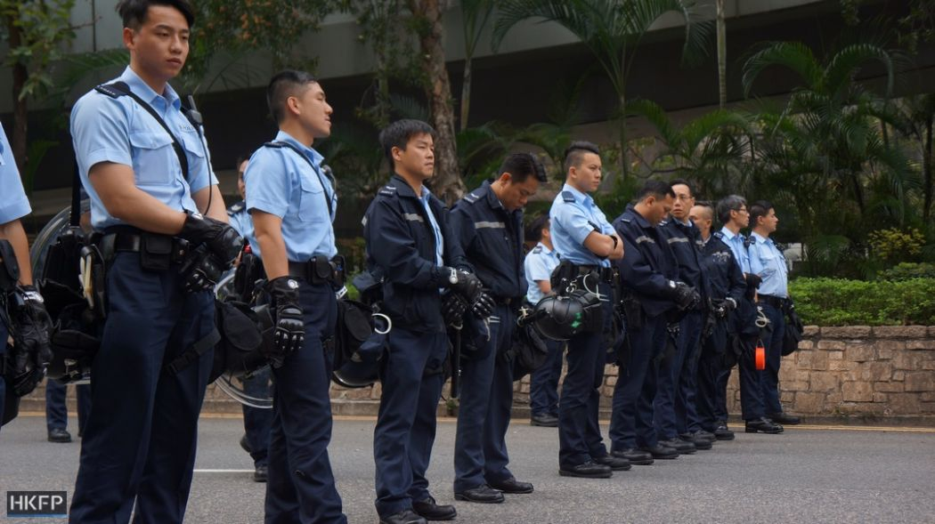 admiralty police occupy clearance 2014 protest