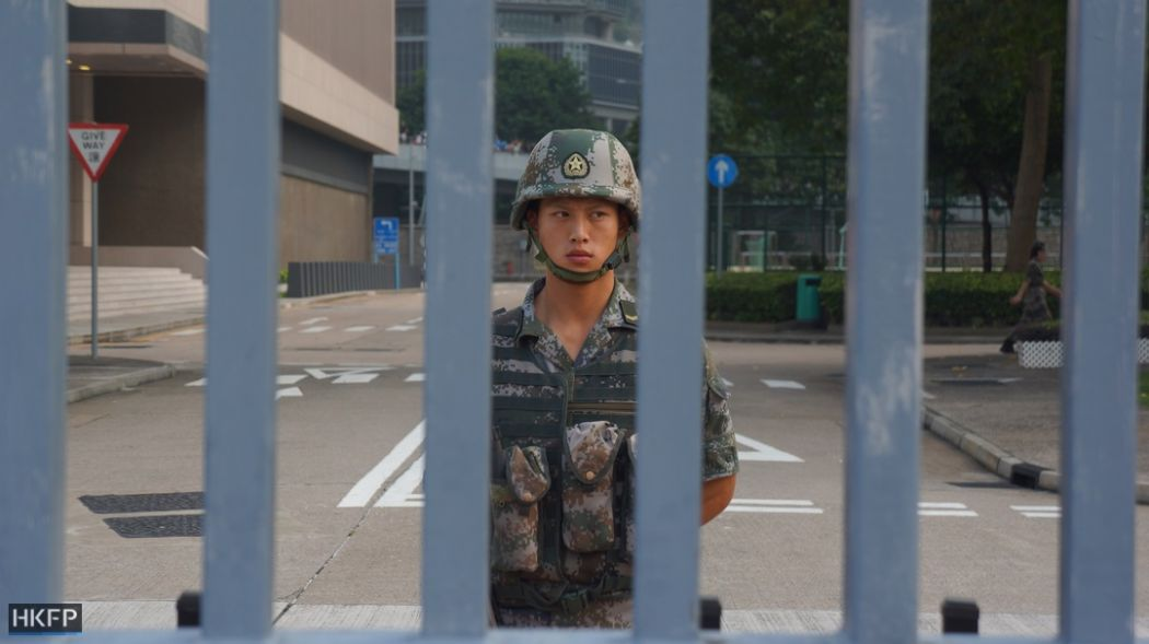 pla garrison hong kong army central