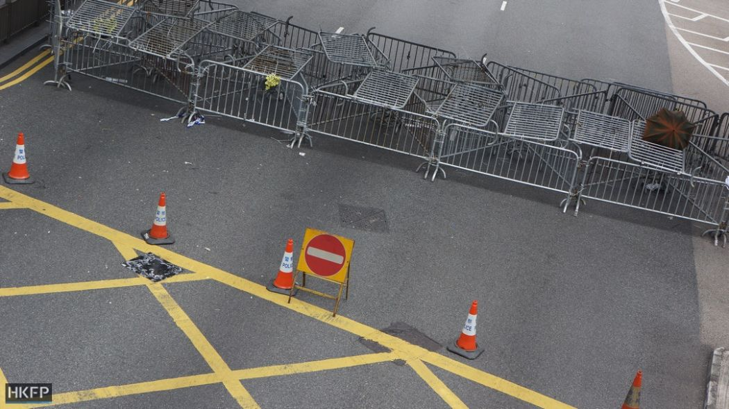 Occupy protests barricades