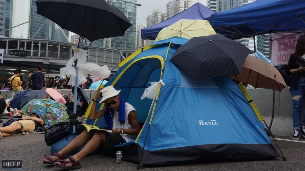 occupy protests tent