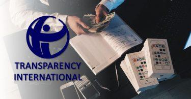 transparency international bribery