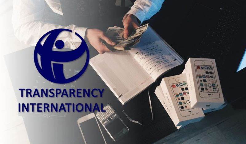transparency international bribery