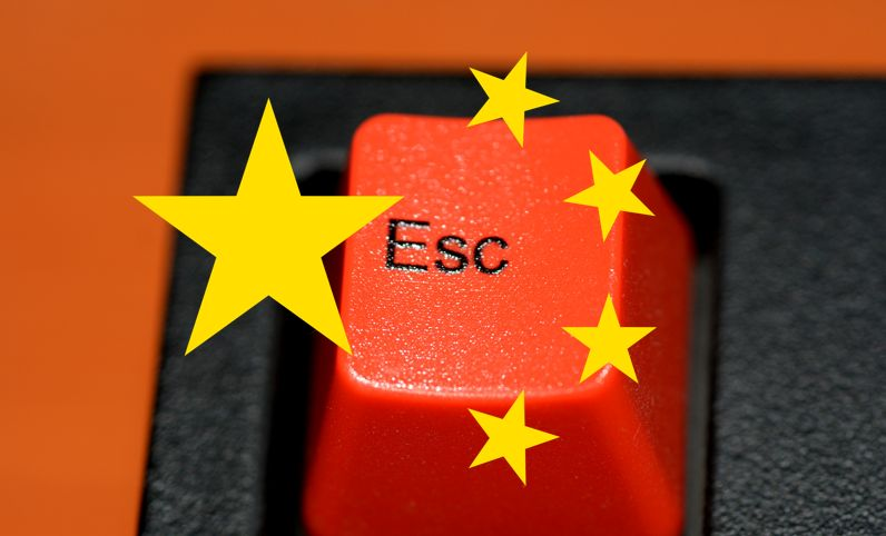 china censorship freedom keyboard