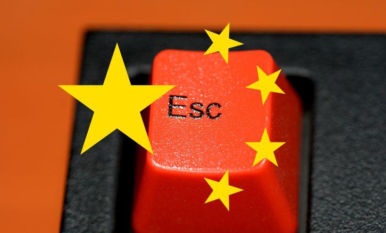 china censorship freedom keyboard