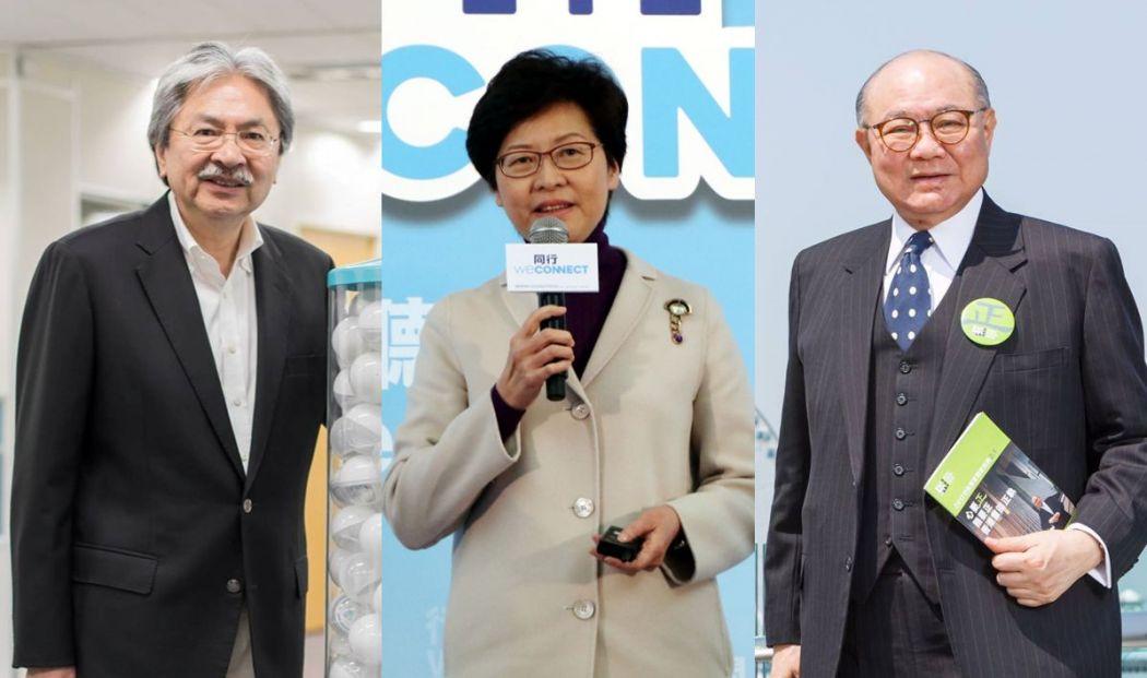 john tsang woo kwok hing carrie lam
