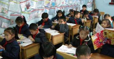 education china school students