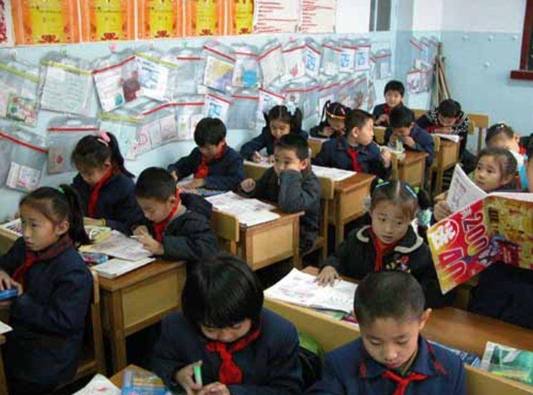 education china school students