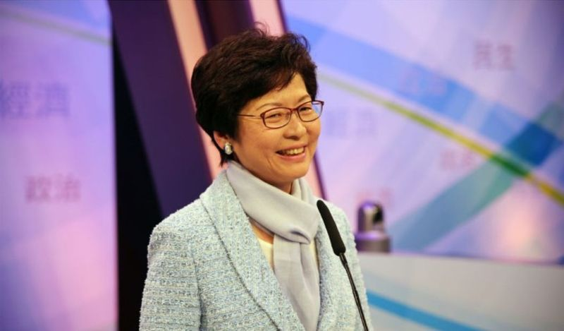 Carrie Lam.