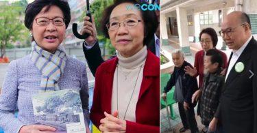 Chan Yuen-han Carrie Lam Woo Kwok-hing