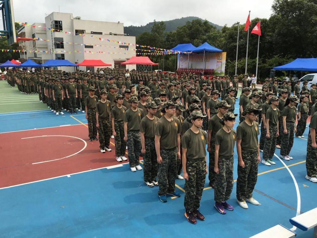po leung kuk training camp