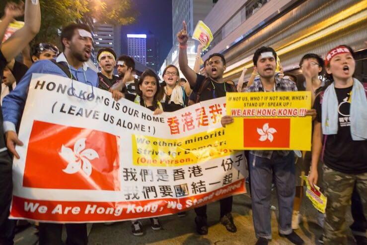 ethnic minority occupy