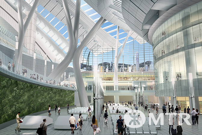 Express Rail Link West Kowloon Terminus Concourse